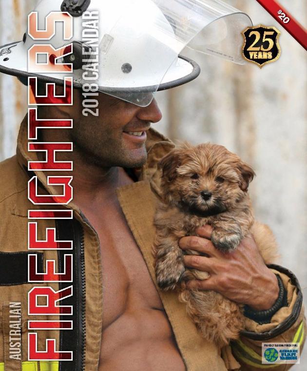 2018 Firefighters Calendar 'Puppy Calendar'