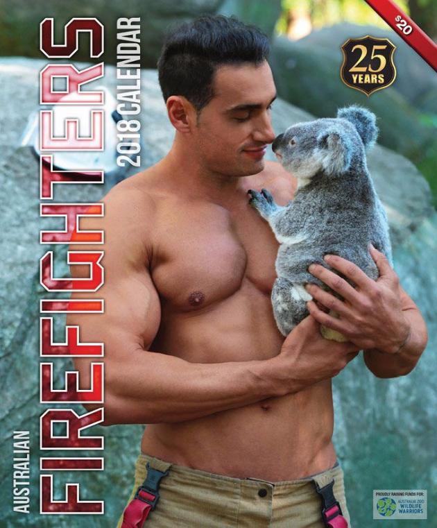 2018 Firefighters Calendar 'Animal Calendar'