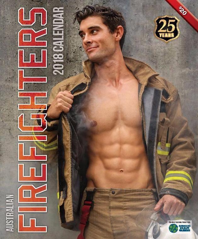 2018 Firefighters Calendar 'Hot Firefighters'