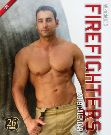 2019 Firefighters Calendar 'Hot Firefighters Edition 1'