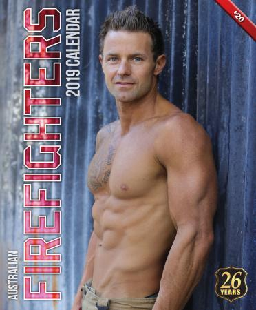 2019 Firefighters Calendar 'Hot Firefighters Edition 2'