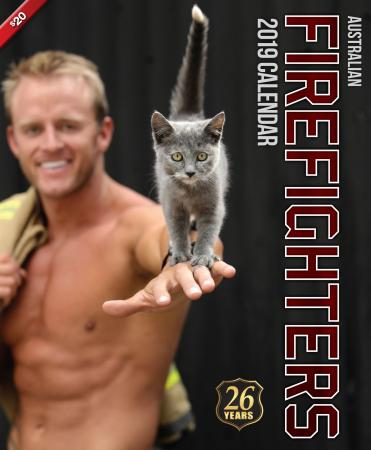 2019 Firefighters Calendar 'Cat Calendar'