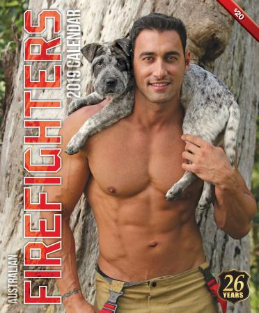 2019 Firefighters Calendar 'Dog Calendar'