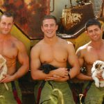 HUNKY HEROES AND PRECIOUS PUPS POSE FOR CHARITY